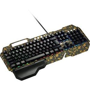 Клавиатура + мышь с ковриком + наушники Canyon Argama CND-SGS03M-RU