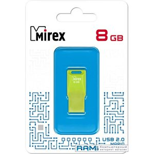USB Flash Mirex Mario 8GB (зеленый)