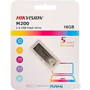 USB Flash Hikvision HS-USB-M200 USB2.0 16GB