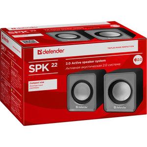 Колонки Defender SPK-22 Grey