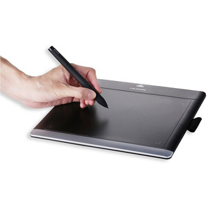 Графический планшет HUION 680TF черно-серый