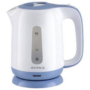 Чайник Supra KES-1724 (белый/синий)