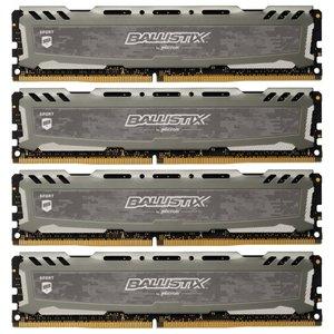 Оперативная память 16Gb DDR4 Crucial Ballistix Sport (BLS4K4G4D240FSB)
