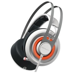 Наушники с микрофоном SteelSeries Siberia 650 Black/White