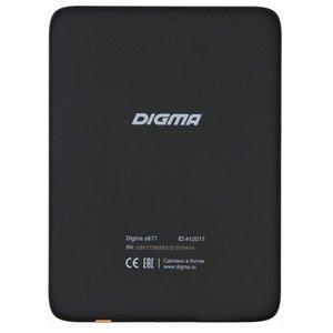 Электронная книга Digma S677 (S677BK)