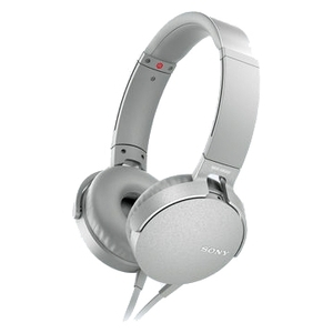 Гарнитура Sony MDR-XB550APW White