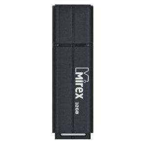 USB Flash Mirex Color Blade Line 32GB (черный) [13600-FMULBK32]