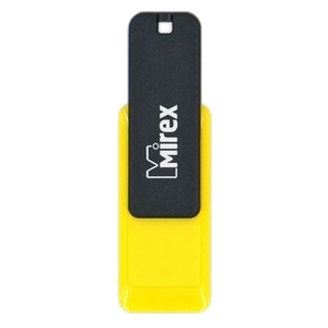 4GB USB Drive Mirex CITY YELLOW (13600-FMUCYL04)