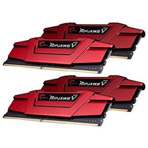 Оперативная память G.Skill Ripjaws V 4x8GB DDR4 PC4-19200 (F4-2400C15Q-32GVR)