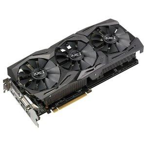 Видеокарта ASUS AREZ Strix Radeon RX 580 TOP edition AREZ-STRIX-RX580-T8G-GAMING