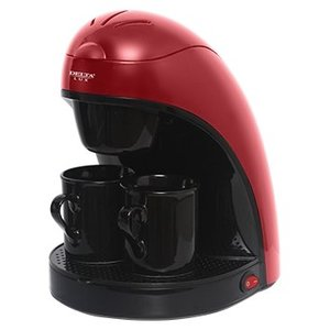 Кофеварка Delta Lux DL-8132 Red/Black