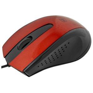 Мышь Defender #1 MM-920 (красный/черный)