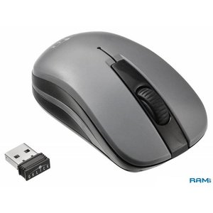 Мышь Oklick 445MW (серый) [945814]