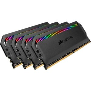 Оперативная память Corsair Dominator Platinum RGB 4x16GB DDR4 PC4-24000 CMT64GX4M4C3000C15