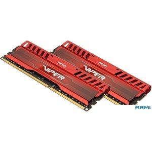 Оперативная память Patriot Viper 3 Venom Red 2x8GB KIT DDR3 PC3-12800 (PV316G160C9KRD)