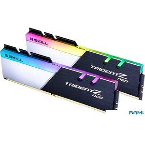 Оперативная память G.Skill Trident Z Neo 2x16GB DDR4 PC4-25600 F4-3200C16D-32GTZN
