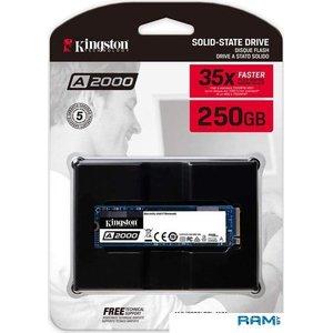 SSD Kingston A2000 250GB SA2000M8/250G