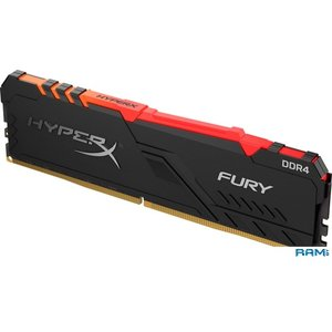 Оперативная память HyperX Fury RGB 8GB DDR4 PC4-27700 HX434C16FB3A/8