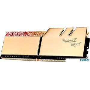 Оперативная память G.Skill Trident Z Royal 4x8GB PC4-28800 F4-3600C18Q-32GTRG