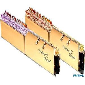 Оперативная память G.Skill Trident Z Royal 2x16GB PC4-28800 F4-3600C18D-32GTRG