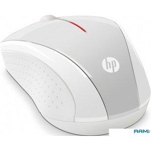 Мышь HP X3000 (белый/серебристый)