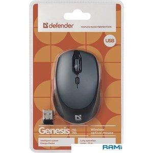 Мышь Defender Genesis MB-795 (черный)