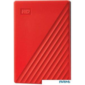 Внешний накопитель WD My Passport 2TB WDBYVG0020BRD