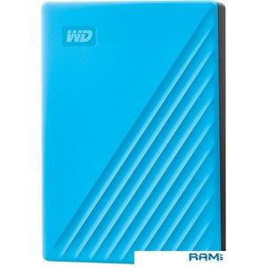 Внешний накопитель WD My Passport 4TB WDBPKJ0040BBL