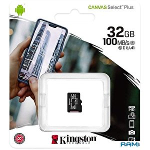 Карта памяти Kingston Canvas Select Plus microSDHC 32GB