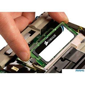 Оперативная память Corsair Value Select 2x4GB DDR3 PC3-10600 KIT (CMSO8GX3M2A1333C9)