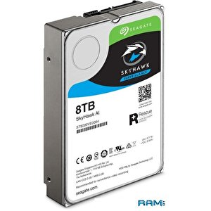 Жесткий диск Seagate SkyHawk AI 8TB ST8000VE000