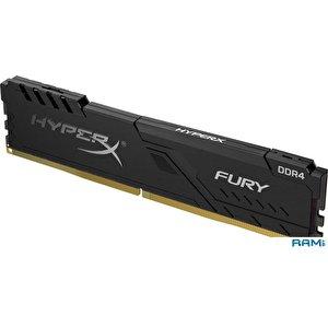 Оперативная память HyperX Fury 8GB DDR4 PC4-28800 HX436C17FB3/8