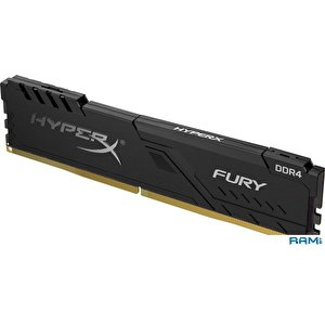Оперативная память HyperX Fury 8GB DDR4 PC4-29800 HX437C19FB3/8