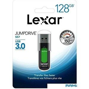 USB Flash Lexar JumpDrive S57 128GB (зеленый)