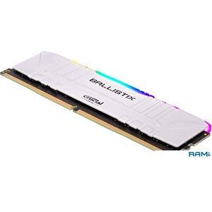 Оперативная память Crucial Ballistix RGB 8GB DDR4 PC4-24000 BL8G30C15U4WL