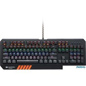 Клавиатура + мышь с ковриком Canyon Nightflyer CND-SGS02-RU