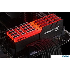Оперативная память G.Skill Trident Z RGB 4x16GB DDR4 PC4-25600 F4-3200C14Q-64GTZR