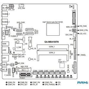 Материнская плата Gigabyte GA-IMB4100TN