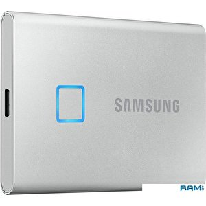 Внешний накопитель Samsung T7 Touch 1TB (серебристый)