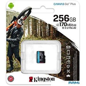 Карта памяти Kingston Canvas Go! Plus microSDXC 256GB