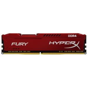 Оперативная память Kingston HyperX Fury White 16Gb DDR IV PC-19200 2400MHz (HX424C15FW/16)