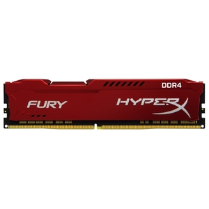 Оперативная память Kingston HyperX Fury Red 8GB DDR4 PC-17000 2133MHz (HX421C14FR2/8)