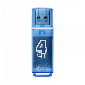 USB Flash Smart Buy Glossy Blue 4GB (SB4GBGS-B)