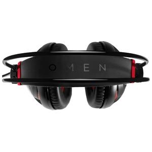 Наушники с микрофоном HP SteelSeries (X7Z95AA) Black/Red