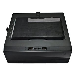 Корпус PowerCool S0001-mini BK 200W