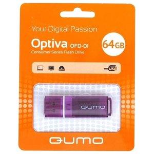 USB Flash QUMO Optiva 01 64Gb Violet