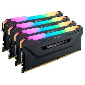 Оперативная память Corsair Vengeance PRO RGB 4x16GB DDR4 PC4-25600 CMW64GX4M4C3200C16