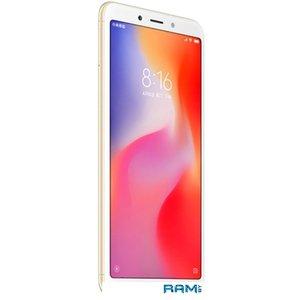 Смартфон Xiaomi Redmi 6 3GB/32GB международная версия (золотистый)