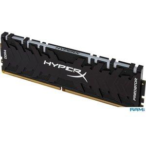 Оперативная память HyperX Predator RGB 4x8GB DDR4 PC4-24000 HX430C15PB3AK4/32