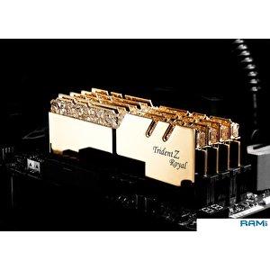 Оперативная память G.Skill Trident Z Royal 2x16GB PC4-32000 F4-4000C19D-32GTRG